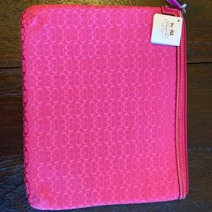 NWT Coach iPad case